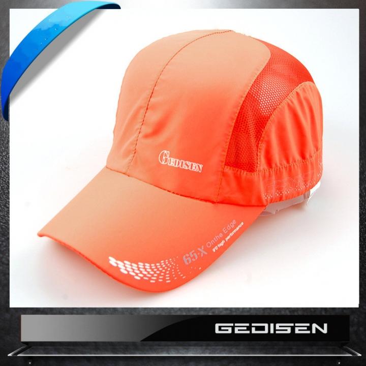 da940e8ff0b Sun screen breathable outdoor dry screen cap sun helmet air fishing  sunscreen hat orange adjustable