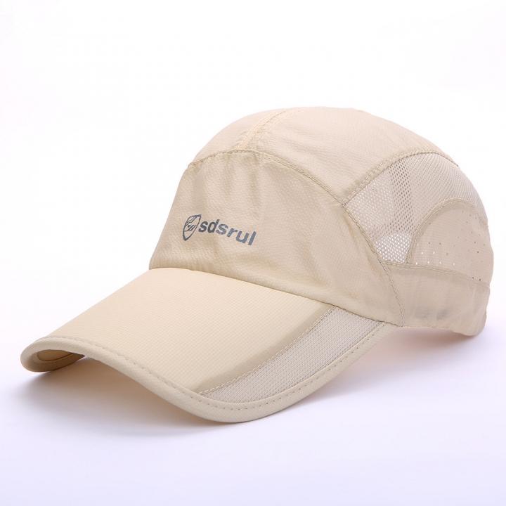 e7f77d56 Summer hat, outdoor sports, quick drying sun hat, sunscreen baseball cap,  net