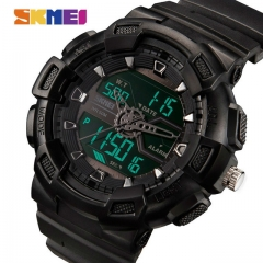 SKMEI Men Watches Outdoor Quartz Sports Wristwatches Fashion Casual rose gold one size