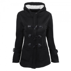 New Long Female Winter Jacket Coat Thick Cotton Warm Jacket Womens Outwear Parkas black m