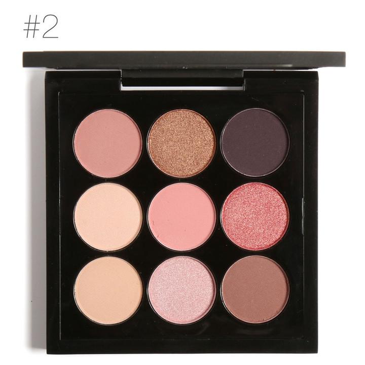 Earth Tone Shimmer Matte Pigment Glitter Eyeshadow Palette Artist Palette Makeup Metallic Eye Shadow 2