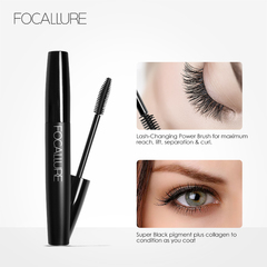 Professional Volume Curled Lash Mascare Waterproof Curling Tick Eyelash Lengthe Eye Makeup Mascara 1