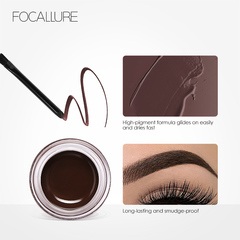 Eyes Comestic Waterproof Eye Liner Gel Makeup Long Lasting Liquid Eyeliner Cream Eyeliner Makeup Set 4