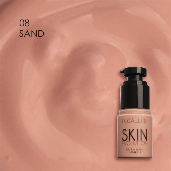Face Foundation Makeup Base Liquid Foundation BB Cream Concealer Whitening Moisturizer Oil-control 8