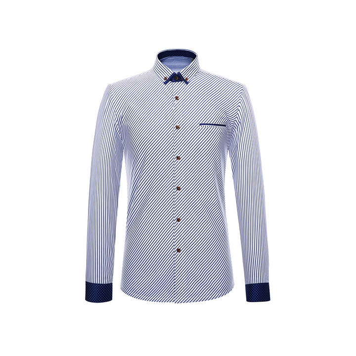 Thick Shirt Luxury Warm Cotton Shirt Oxford Britsh Style Business Official Good Quality Heavy white 38