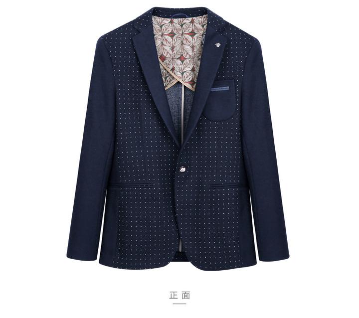 Thick Casual Men Blazer Cotton High Quality Luxury Fashion Brand Men Suit Coat Winter Wedding Groom star xxl