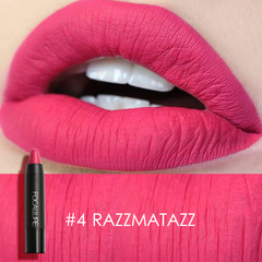 Matte Lipstick Waterproof Long-lasting Easy to Wear Maquiagem Profesional Lipstick Nude Lips 4