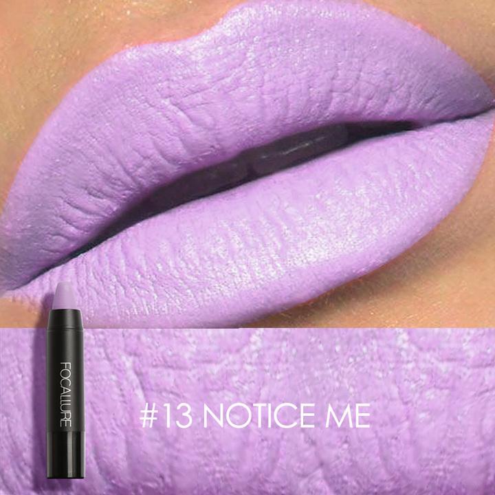 Matte Lipstick Waterproof Long-lasting Easy to Wear Maquiagem Profesional Lipstick Nude Lips 13