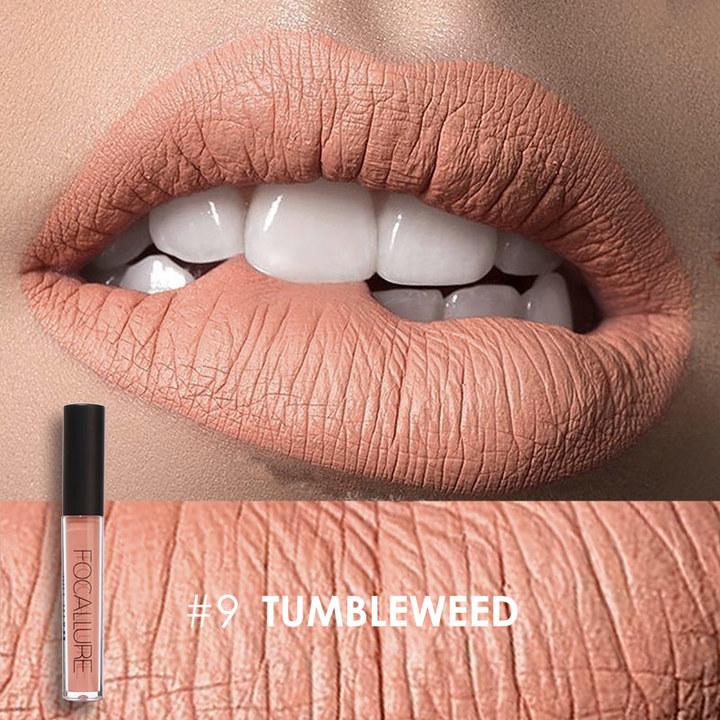 Matte Liquid Lip Gloss Matte Lipsick Long Lasting Waterproof Cosmetic Beauty Makeup Keep Lipgloss 9