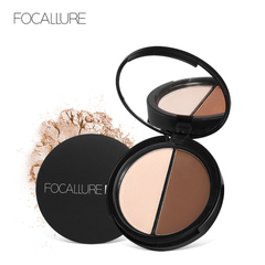 New Makeup Blush Bronzer Highlighter 2 Diff Color Concealer Bronzer Palette Comestic Make Up 2A