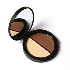 New Makeup Blush Bronzer Highlighter 2 Diff Color Concealer Bronzer Palette Comestic Make Up 1A