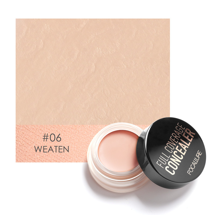 Full Cover Concealer cream Makeup Primer Cover Foundation Base Lasting Oil Control Cream Concealer 6
