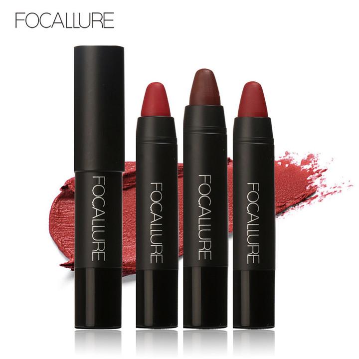 Waterproof Long-lasting Red Velvet Nude Tattoo Matte True Brown Color Pencil Lipstick Crayon Makeup KIT 1