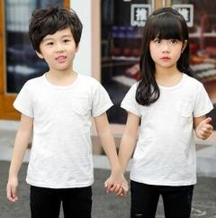 Cotton Short Sleeve T-shirt for Children and Cotton Half Sleeve T-shirt for Boys and Girls 1 100cm cotton
