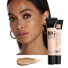 Matte Makeup Foundation Cream Face Professional Concealing Tonal Base high coverage Liquid 3