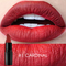 Matte Waterproof Velvet Lip Stick Sexy Red Brown Pigments Makeup Matte Beauty Lipsticks #01