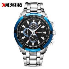 CURREN Business Men Watches Analog Sport Full Steel Waterproof Wrist Watch For Men Male Clock 1 one size