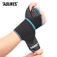 Removable Adjust Wristband Wrist Brace Wrist Support Splint Fractures Carpal Tunnel Sport Hand blue A pair(Left hand and right hand)