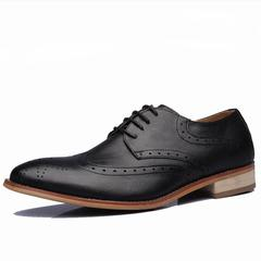 Luxury Brand Men Shoes Trend Leisure Leather Shoes Breathable For Male Footwear Loafers 191-1 black 40
