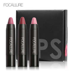 Waterproof Long-lasting Red Velvet Nude Tattoo Matte True Brown Color Pencil Lipstick Crayon Makeup KIT 2