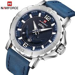NAVIFORCE Watches Analog Date Clock Quartz Watch Men Army Military Men Sport Wristwatches 1 one size