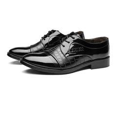 Business Luxury OXford Men Breathable PU Leather Shoes Rubber Formal Dress Male Office leather Shoe 1 45 leathers