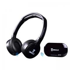 B616 Wireless Wired FM Multi-Function Media Studio Gaming Music Headset Headphones as shown