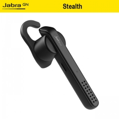 Jabra Stealth Bluetooth Wireless Earphone HD Voice Control Noise Reduction Comfortable Fit Headset black