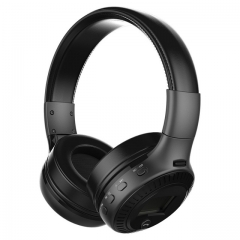 B19 HiFi Bass Stereo Bluetooth Headphone Wireless Headset black