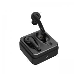 Bluetooth 5.0 Earphones Binaural calls Wireless Headset Stereo Headphone Sport Bass Earbuds black