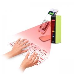 Wireless Bluetooth Laser Virtual Projection Keyboard+Touchpad Mouse KB320English Virtual Keyboard White One size