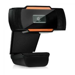 USB Web Cam 12.0MP High Definition Web Camera 360 Degree Rotatable with MIC Clip-on Webcam As shown One size