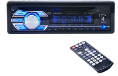 1563U 1-DIN 12V Car Radio Audio Stereo MP3 Players CD Player Support USB SD Mp3 Player