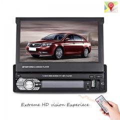 Car Video MP5 Player 7 Inch HD Touch Screen Bluetooth FM Radio European GPS Map