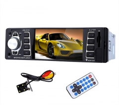 4.1inch 12V Bluetooth Car Radio Digital Audio Stereo MP4 Player with Rearview Camera MIC