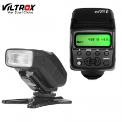 Viltrox JY610II Mini LCD Speedlite Camera Flash Light for sony a9 a6500 a7sii a7rii a7s a7r as shown one size