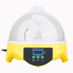 Mini 7 Egg Incubator Automatic Poultry Brooder Digital Temperature Hatchery Egg Hatcher as shown