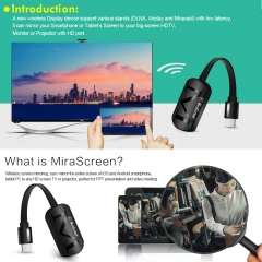 MiraScreen G4 TV Stick Anycast HDMI Dongle Receiver 2.4G WiFi Display Miracast Airplay