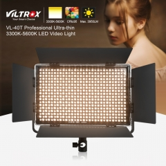 Viltrox VL-40T Remote Control 3300-5600K 540 LED Video Fill Light CR95+ 4400LM as shown one size
