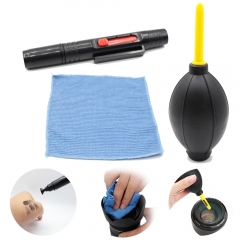 5in1 Dust Cleaner Lens Cleaning Pen Brush Air Blower Wipes kit for Gopro SJCAM as shown one size