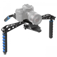 Neewer Aluminium Alloy Foldable DSLR Rig Movie Kit Film Making System Shoulder as shown one size