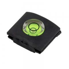 2PCS Camera Flashlight Hot Shoe hotshoe cover with bubble Spirit Level for DSLR/SLR/EVIL Camera as shown one size