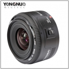 Yongnuo 35mm lens YN35mm F2.0 lens Wide angle Fixed dslr camera Lens For canon 600d 60d 5DII as shown one size