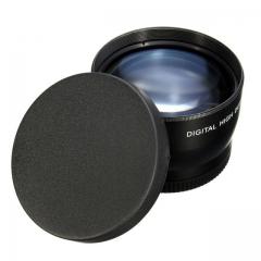 58mm 2X magnification Telephoto Lens for Canon EOS 700D 650D 600D 7D 6D 550D 60D 70D as shown one size