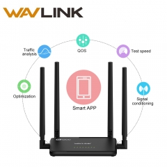 Wavlink AC1200 High Power Wifi Dual Band Router 2.4GHz 5GHz Wireless Wifi Router Repeater
