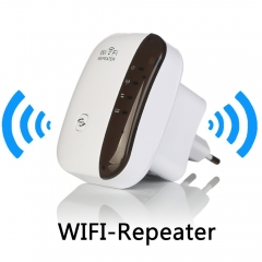 Wireless WiFi Repeater Signal Amplifier 802.11N/B/G Wi-fi Range Extander 300Mbps