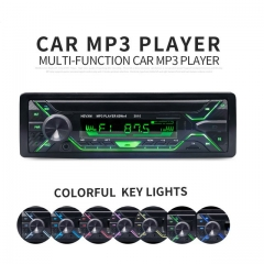 Car Radio Stereo Player Bluetooth Phone AUX-IN MP3 FM/USB/1 Din