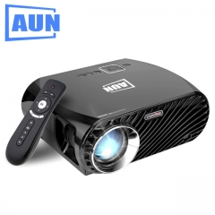 AUN SimpleBeamer Projector GP100 Pro, Set in Android 6.0.1, WIFI, Bluetooth. 1280*800, 3200 Lumens