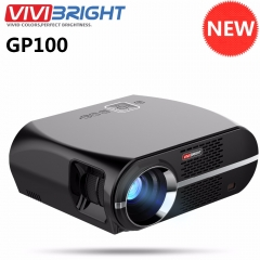 Newest ViviBright GP100 Home Theater Projector 3500 Lumens High Brightness LED Video Projector