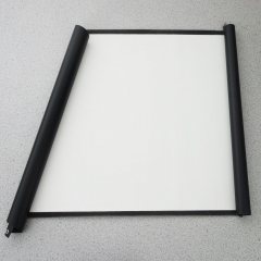 100 inch 16:9 Portable Projector Screen Plastic Projection Screen Matte White for Home Theater